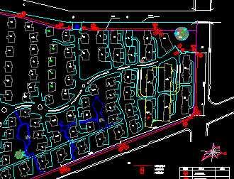 小区周界防范与监控图免费下载