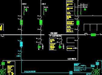 220kv电气主接线图