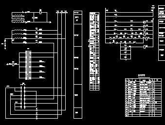 6kv电压互感器柜二次接线图免费下载