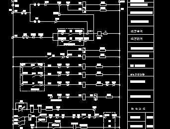 110kv线路控制原理图免费下载