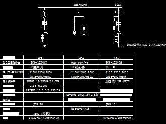 10kv主接线图
