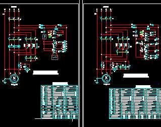 28kw~300kw自耦减压启动柜接线原理图