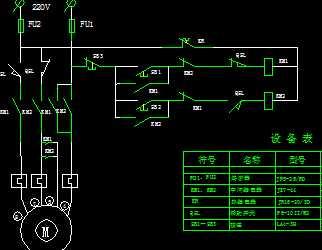 35kv负荷隔离开关机构箱控制原理图