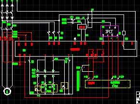 电机继电器 接线 图高清图片