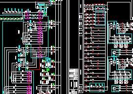 吊车电气控制原理图高清图片
