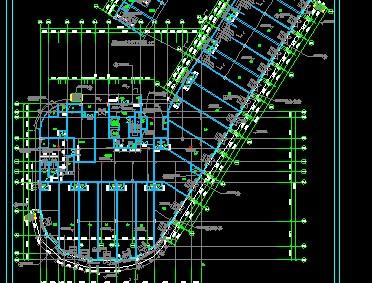 高层住宅楼强电施工图
