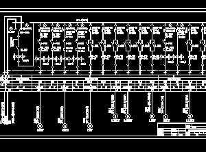 某污水泵房低压配电系统设计图图片