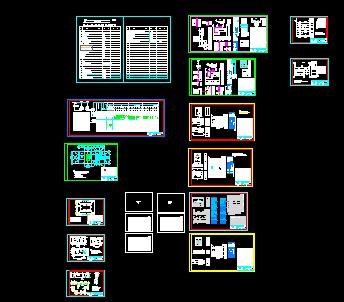 某10kv箱式变电站电气施工图图片
