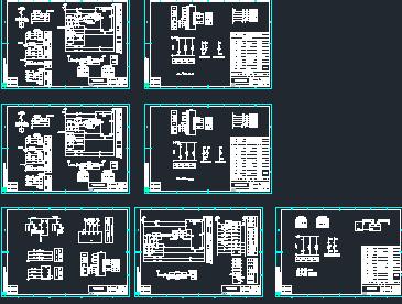 10KV配电所一、二次家具图免费下载-原理图梦幻西游电气图纸制作图片