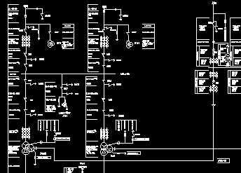 某电厂电气主接线图