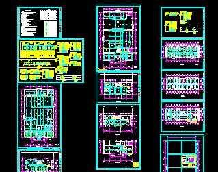 某厂房车间电气平面图