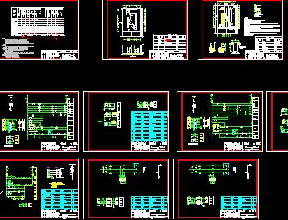 10KV系统开闭所设计图免费下载传鬼图纸讨武器2图片