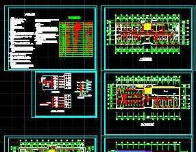 某四层办公楼强电设计图免费下载-家装电气设计部v家装图片