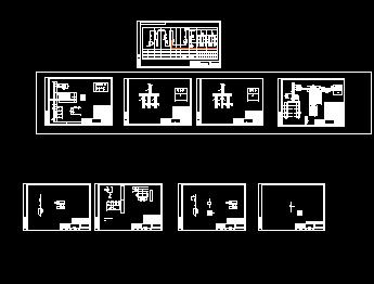 箱式室外变电站系统图纸图片