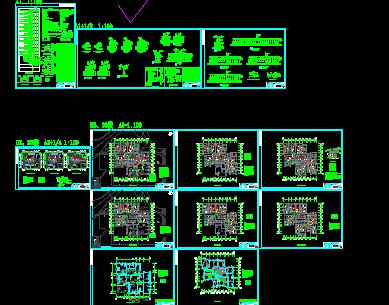低压水电站电气主接线图免费下载