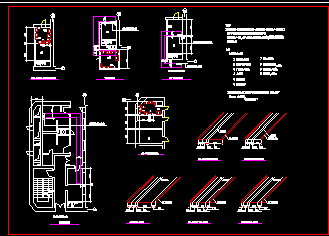 某别墅弱电井设计图纸免费下载