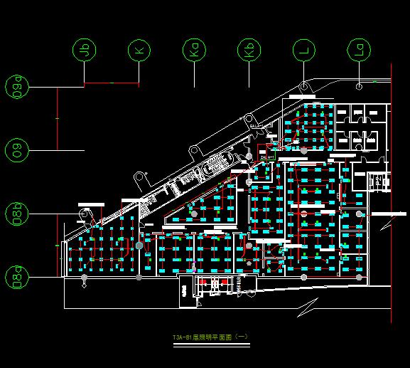 机房电气照明施工图