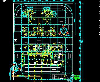 110kv变电站防雷接地施工图纸