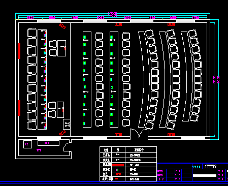 会议室系统布置图