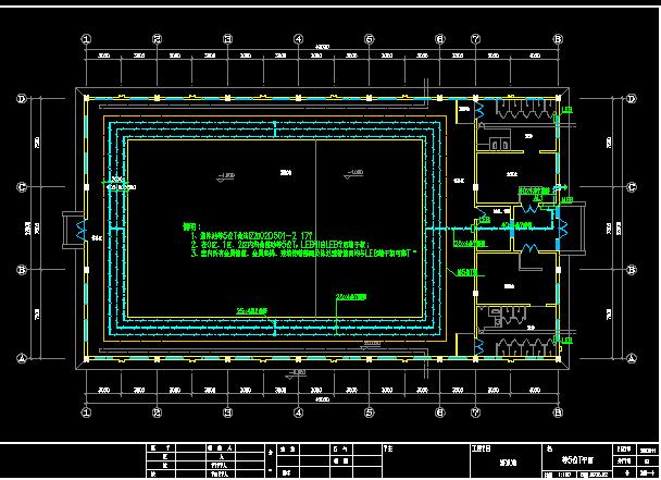 游泳池电气设计图图片