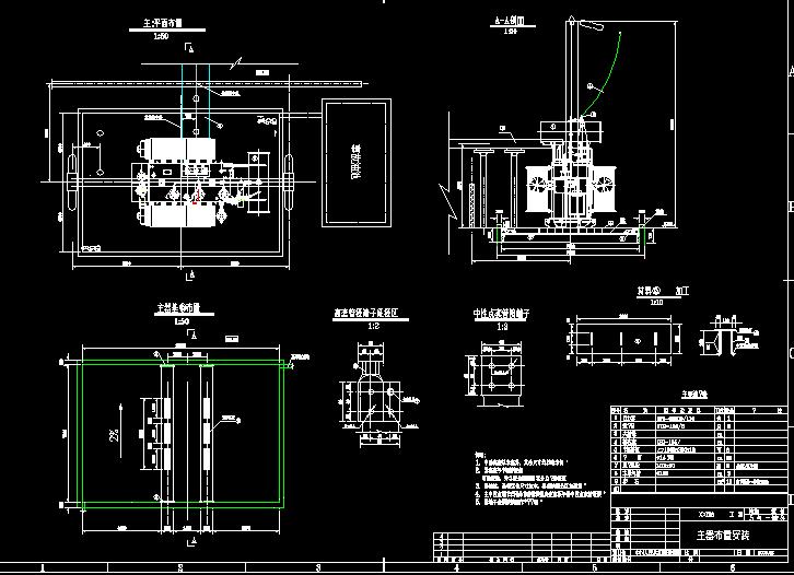sf9-63000-110变压器安装图