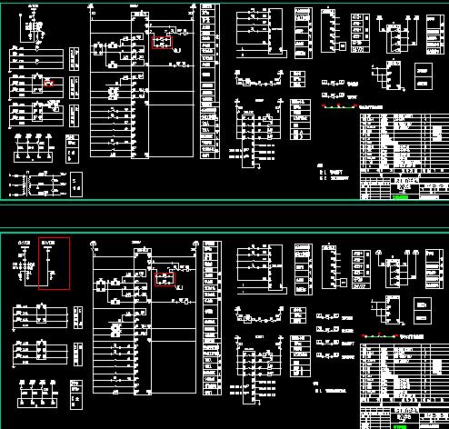 6kv变电站二次接线图