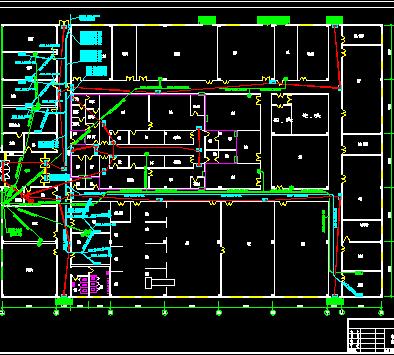 某生产车间疏散照明平面图免费下载
