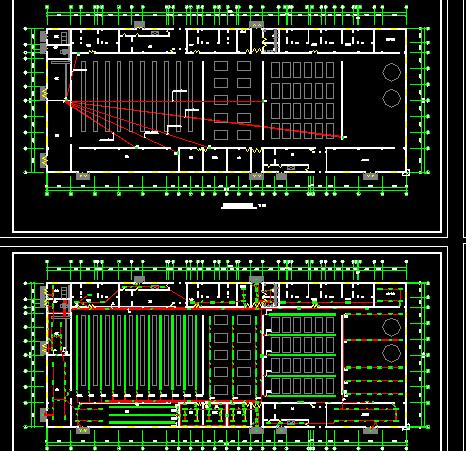 某住宅小区智能化系统图