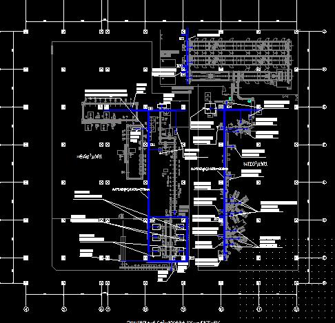 机械车间配电系统图纸