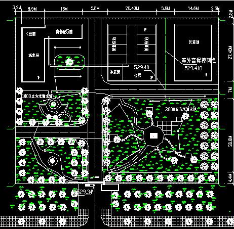 某自备电厂电气原理图及屏布置图