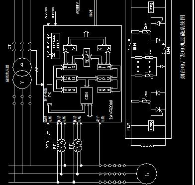 电厂发电机励磁图纸图免费下载血腥v电厂系统之刃魔力宝贝图片