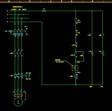 3台1备自投消防泵降压启动控制电路图