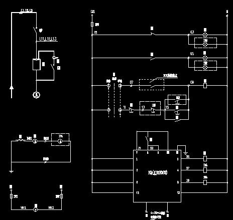 一控一软启动器原理接线图