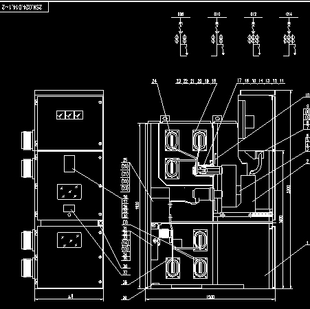 自动喷洒用消防泵降压起动控制电路图