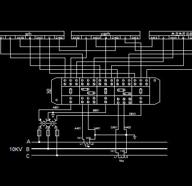 高压计量接线图免费下载图片