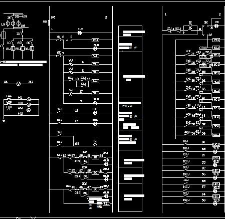 微机控制自动电锅炉控制原理图