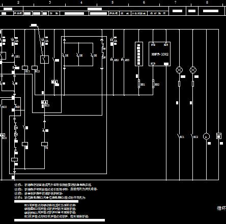 循环水泵电动机接线图