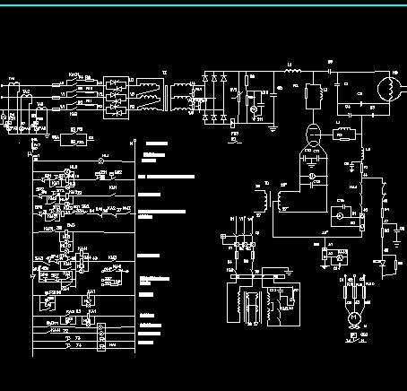 焊管高频电路原理图
