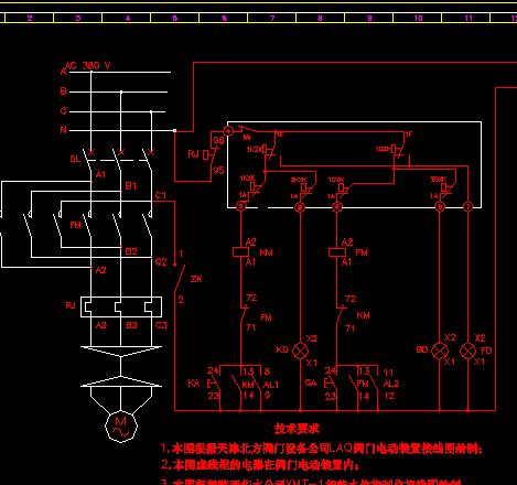 水箱水位自动控制箱系统图