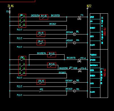 电磁阀箱控制原理图图片
