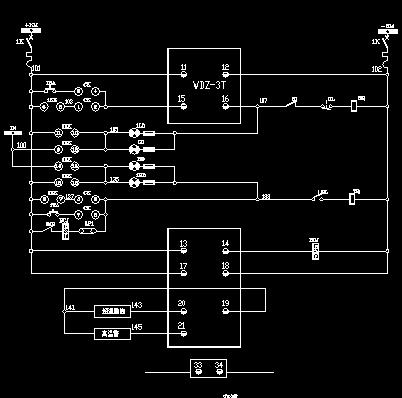 6-0.4kv变压器二次接线图