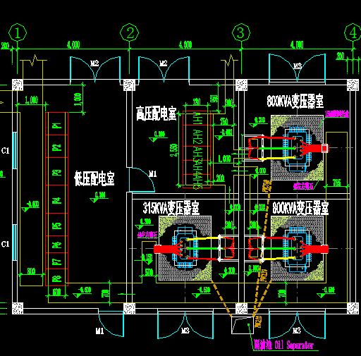 电厂循环水泵高压变频器改造电气原理图