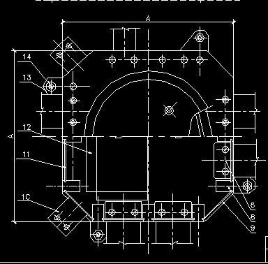 10KV变电所v配线线槽配线安装图纸图免费下载瓦彩钢820型cad系统图片