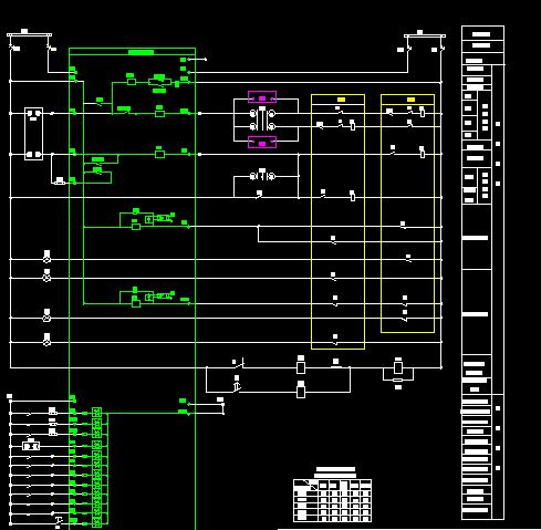 变电站10kv电气一次系统图