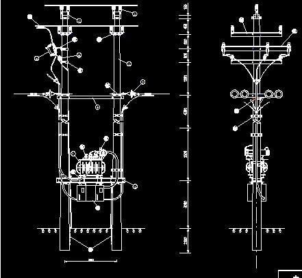 10kv变压器电气装置组装图