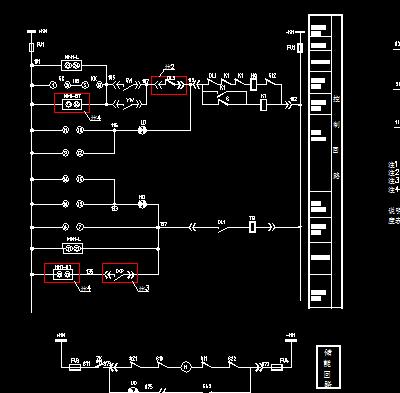 10KV变电所微机v微机二次原理图免费下载-电的多号0大是图纸的图片
