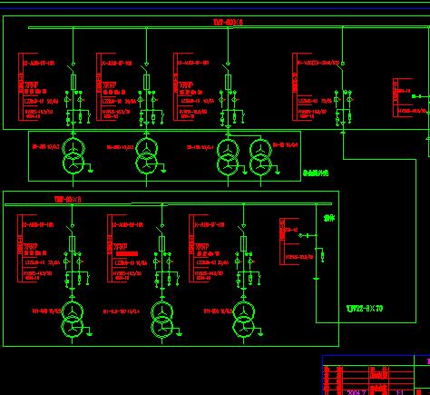 10kv變電站電氣主接線圖