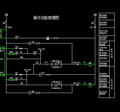 厂用变保护测控装置电气设计