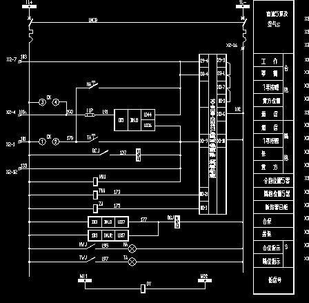 6kv电动机机组ups差动接线图