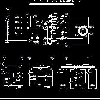 plc控制交流双速电梯线路原理图图片